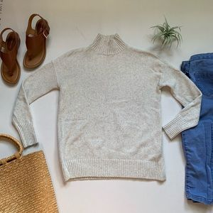 GAP | Cream Mock Neck Sweater